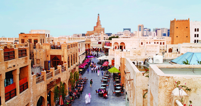 Qatar, Middle East, Arabian Peninsula, Doha, the restored Souq Waqif